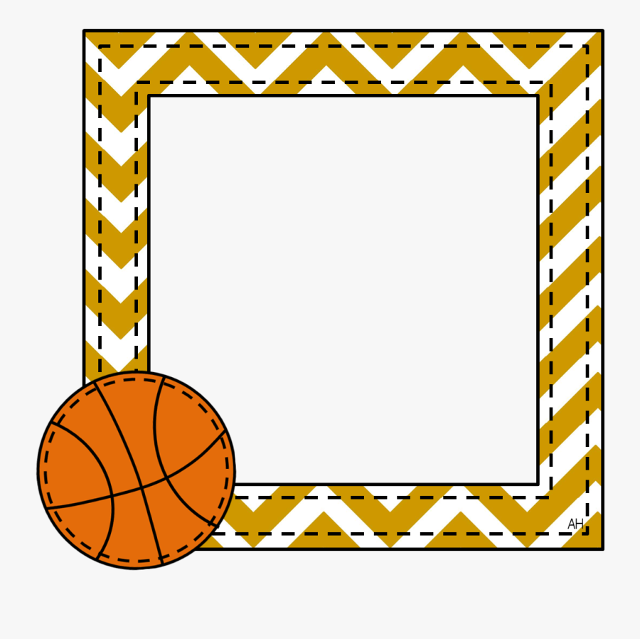 Border And Frames Basketball , Free Transparent Clipart.