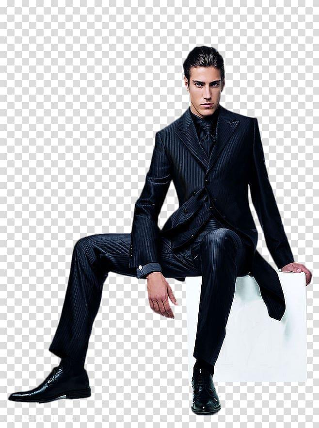 Suit Marketing Designer, A man in a suit transparent.