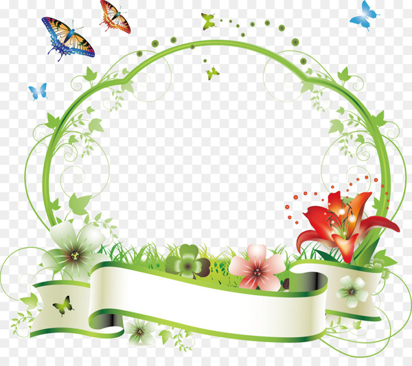 Flower Picture frame Floral design Clip art.
