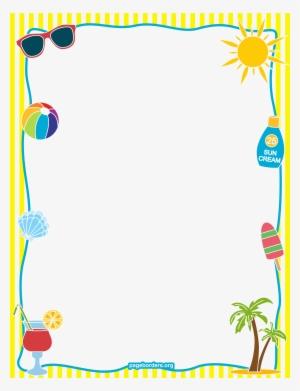 Summer Border PNG & Download Transparent Summer Border PNG.