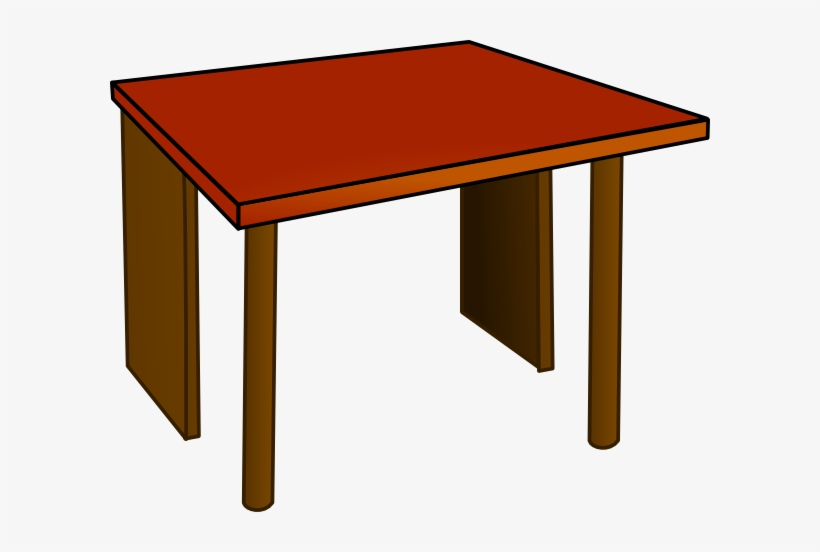 School Table Clipart.