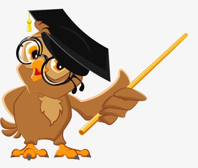 Dr Owl, Owl Clipart, Owl, Lecturer PNG Transparent Clipart.