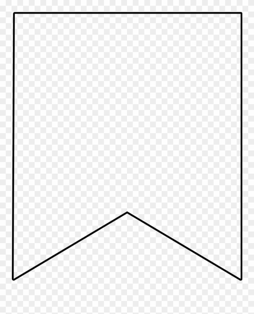 White Banner Transparent Image.