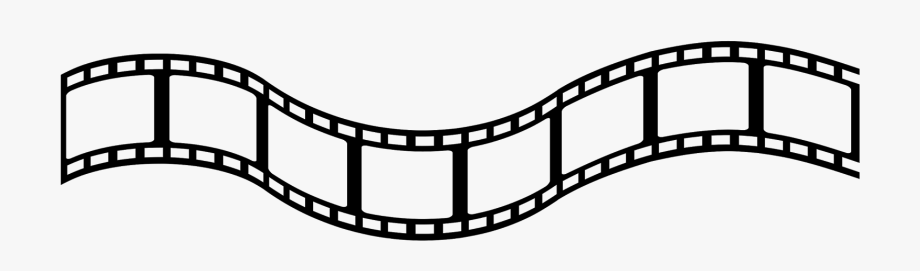 Film Strip Vector Clipart.
