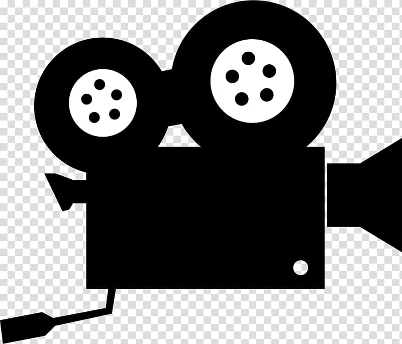 Graphic film Movie camera , Call Us transparent background.