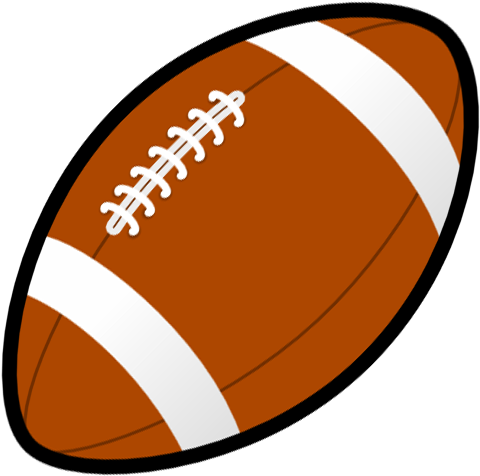 Football Clipart Black And White Free Clipart Images.