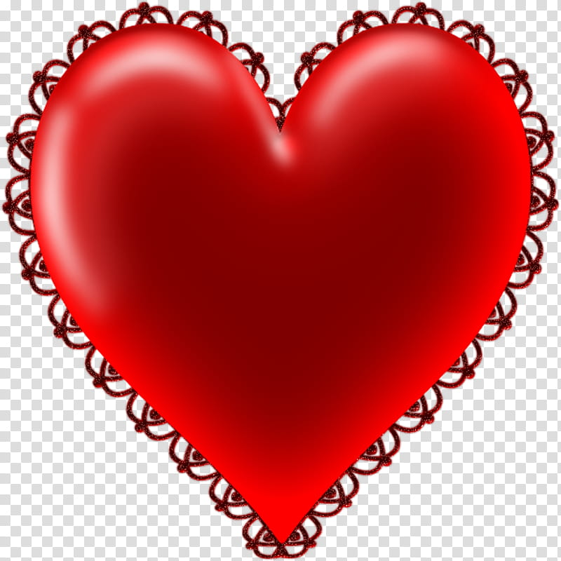 Valentine S Day Hearts , red heart illustration transparent.