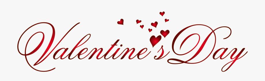 Valentine\'s Day Transparent Png Clip Art Image.
