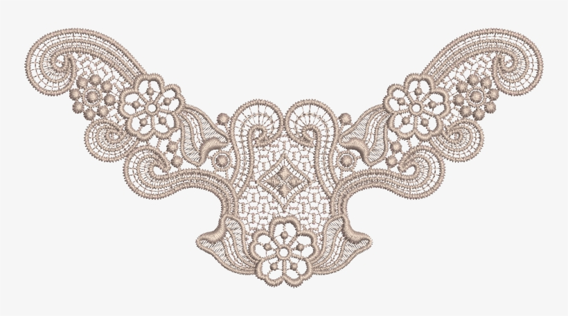Vintage Lace Png Clipart Black And White Download.