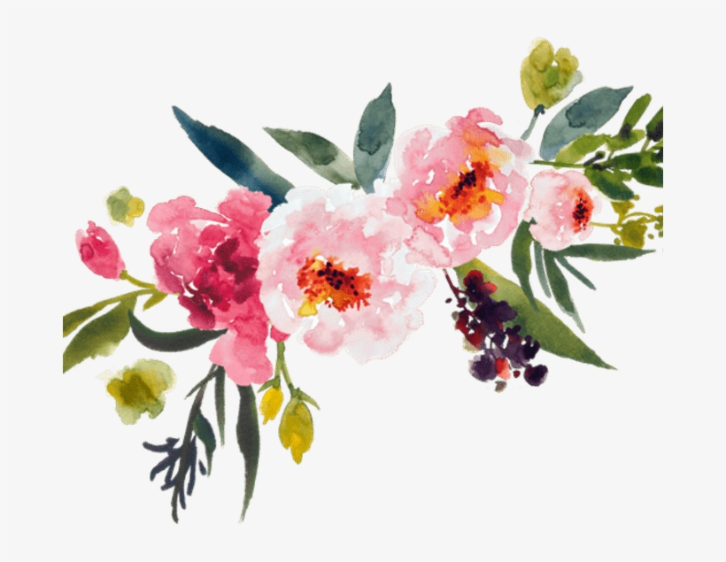 Flowers Png Transparent Watercolor Bouquet Transparent.