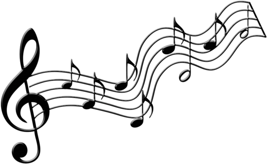 Free Music Staff Transparent Background, Download Free Clip.