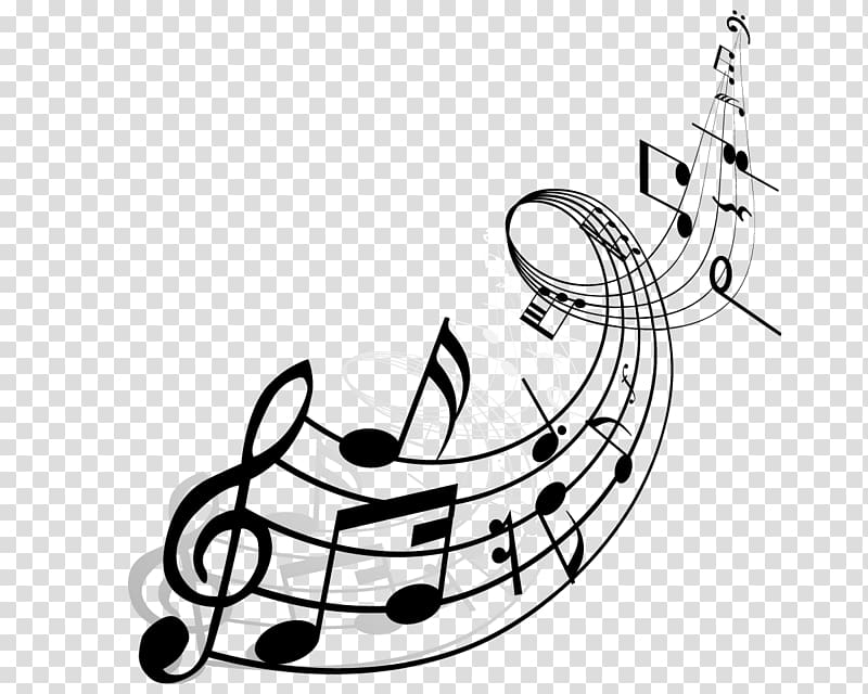 Musical note Staff , musical note transparent background PNG.