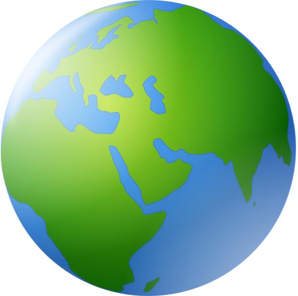 World Globe Map Clip Art Pictures to Pin on Pinterest.