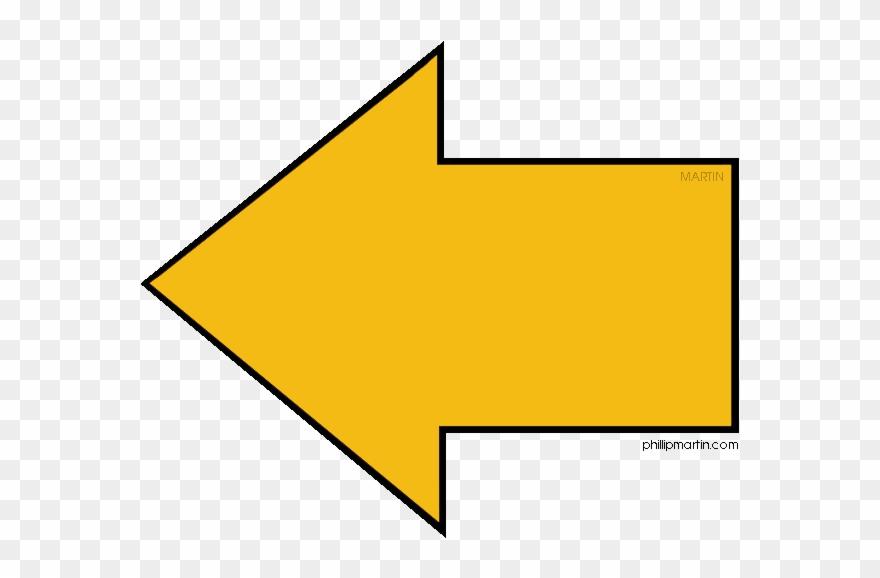 Yellow Arrow Yellow Arrow Transparent Background Clipart.
