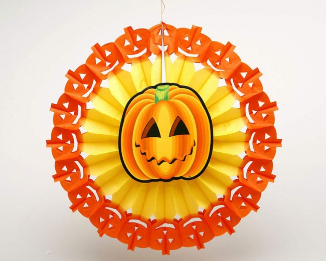 ADORNAMENT CARBASSA HALLOWEEN 45cm.