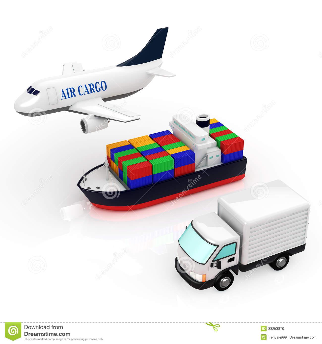 Logistics Stock Photo.