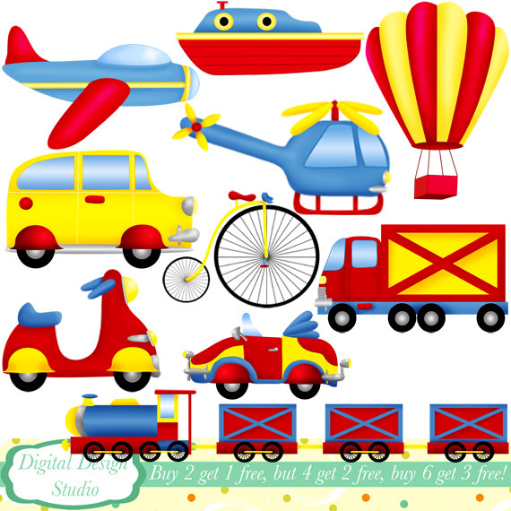 Transport Clipart.