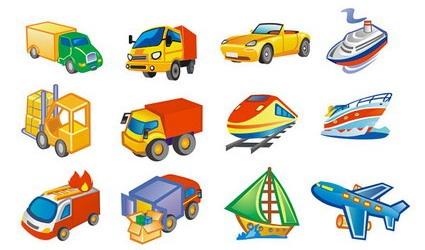 Transport Clip Art, Vector Transport.