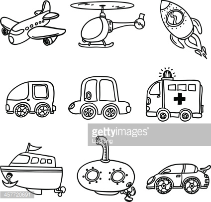 Transport clipart black and white 6 » Clipart Station.