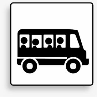 Bus Transportation Vehicle Motion Clipart.