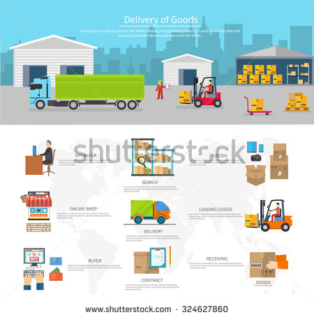 Logistics Stock Photos, Royalty.