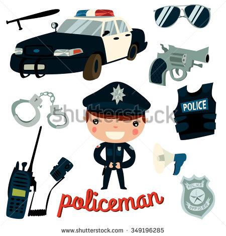 Police Gun Clip Stock Photos, Royalty.