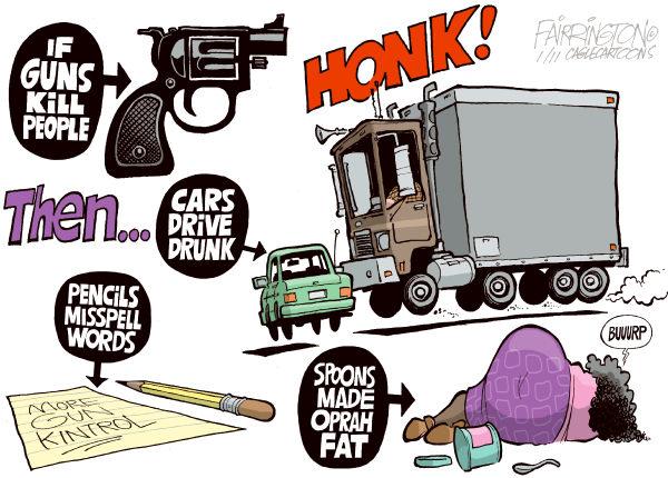 Guns Cartoon.