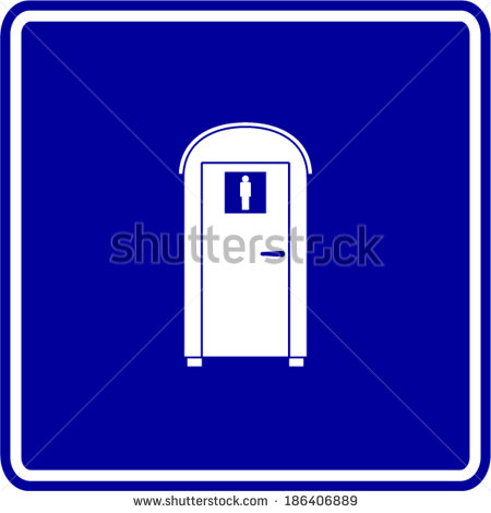 Portable Toilet Stock Photos, Royalty.