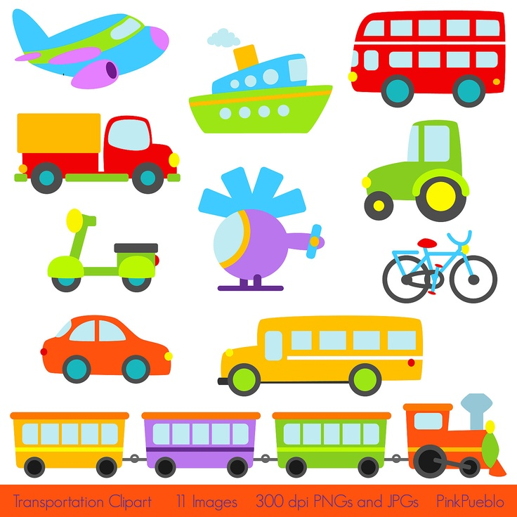 Transportation Clipart Free.