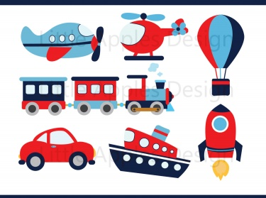 Transportation Clipart / Transportation Clip Art.