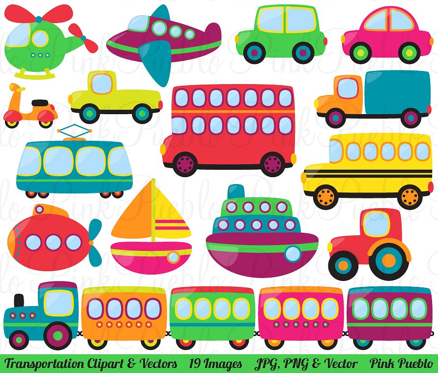 Transportation clipart Photos, Graphics, Fonts, Themes, Templates.