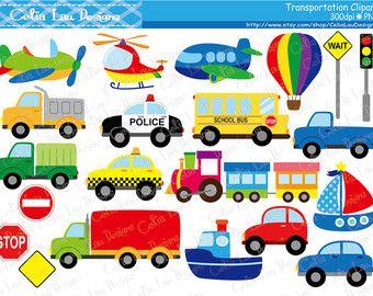 Transportation clipart preschool, Transportation preschool.