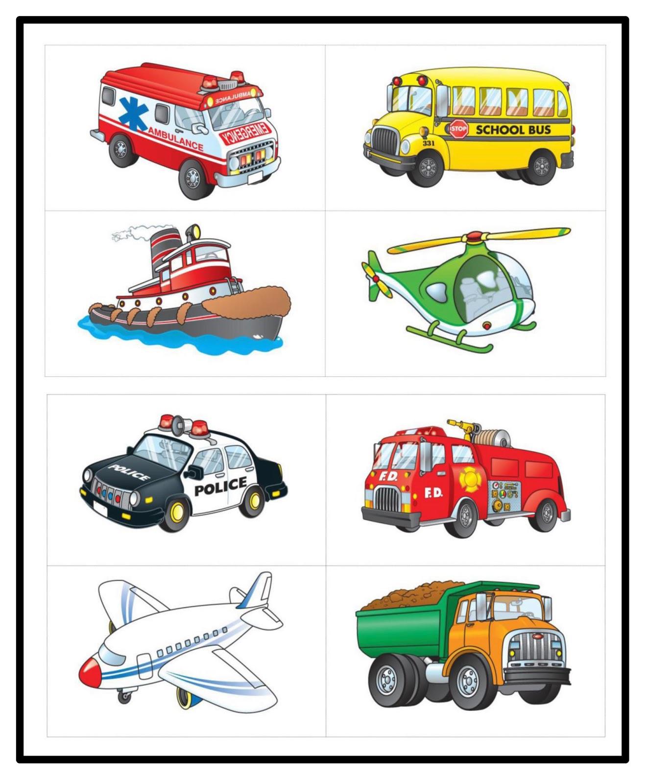 Transportation Clipart Preschool.