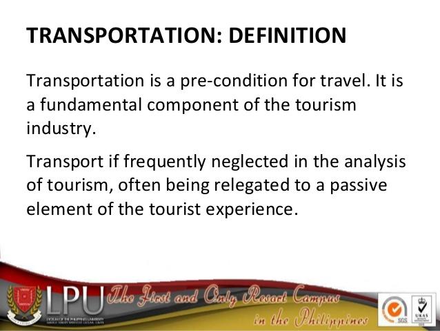 The Transportation & Aviation Industry.