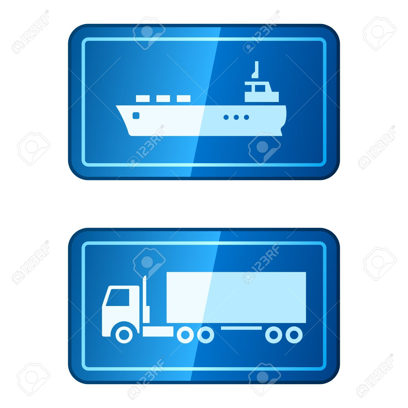 Cargo Transportation Royalty Free Cliparts, Vectors, And Stock.