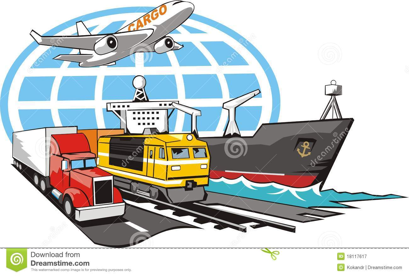 transportation of cargo clipart clipground