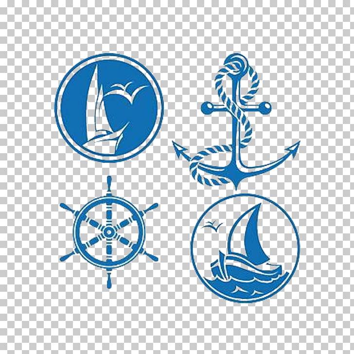Símbolo de transporte marítimo vela, bandera de la nave PNG.