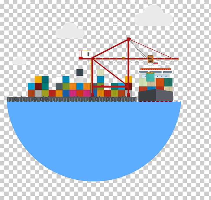 Transporte aéreo transporte marítimo carga embarcaciones.