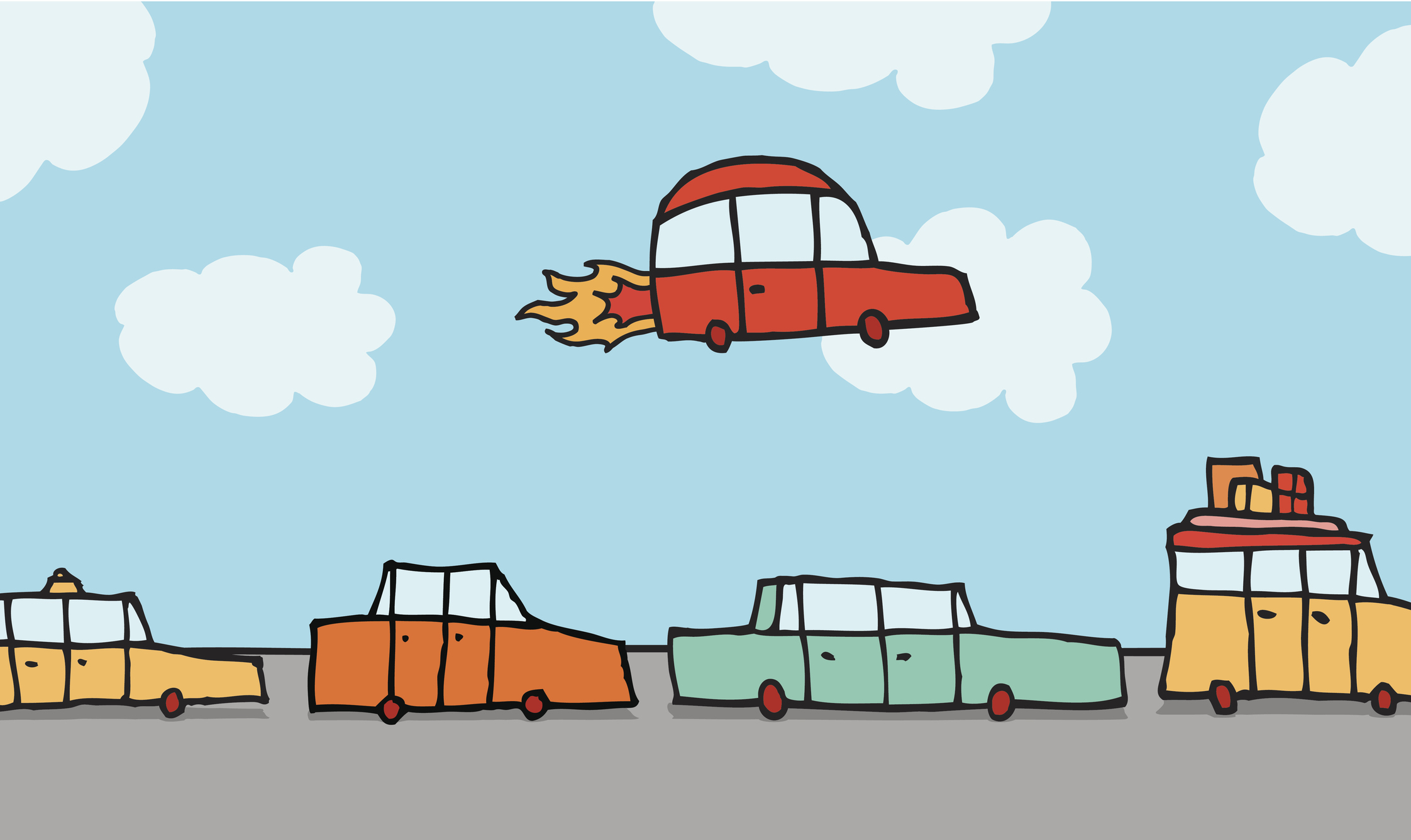 Flying clipart different transportation, Flying different.
