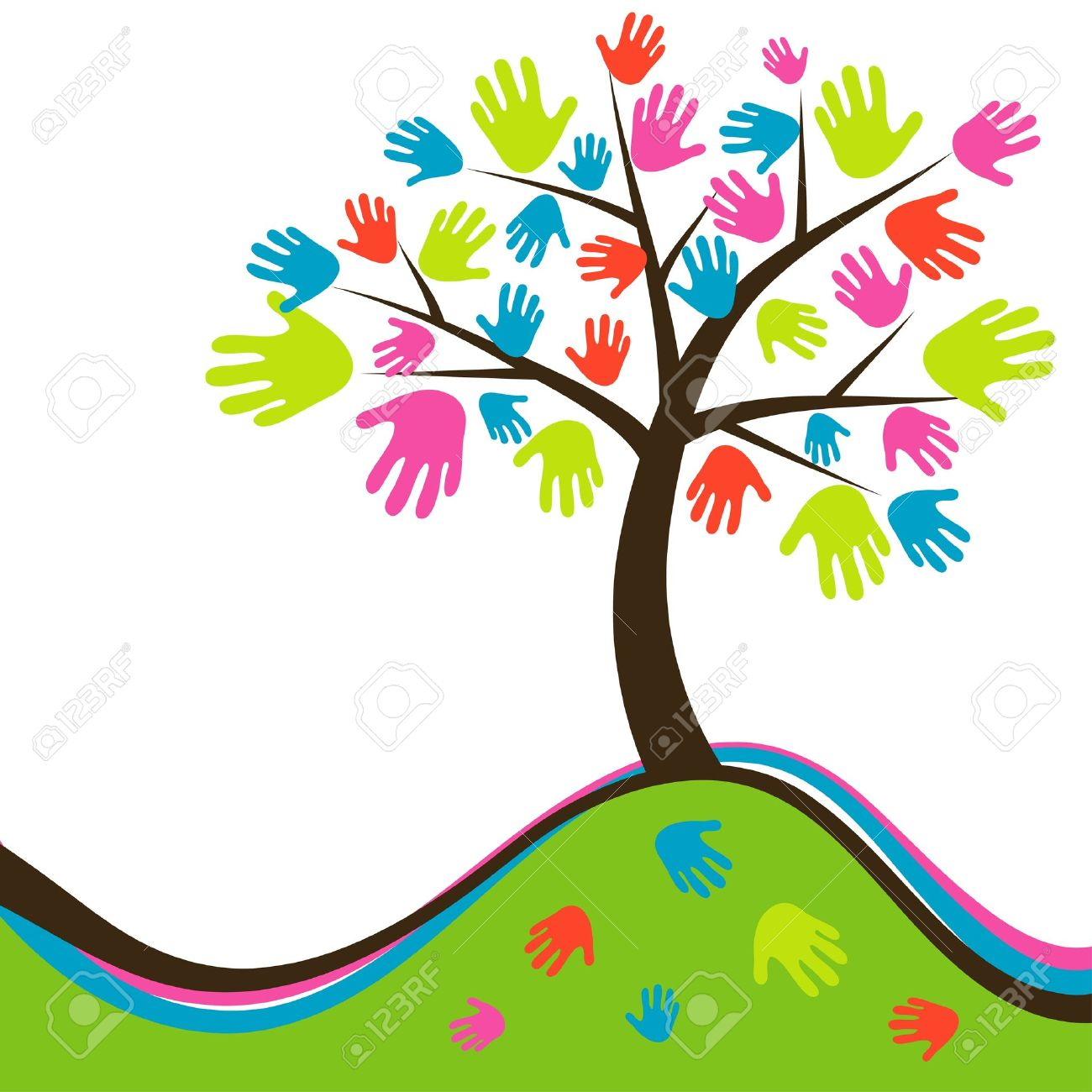 59 Fingerprint Tree Cliparts, Stock Vector And Royalty Free.