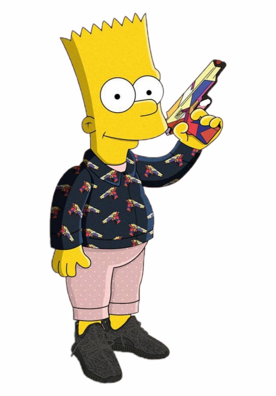 Bart Simpson Gang Report.