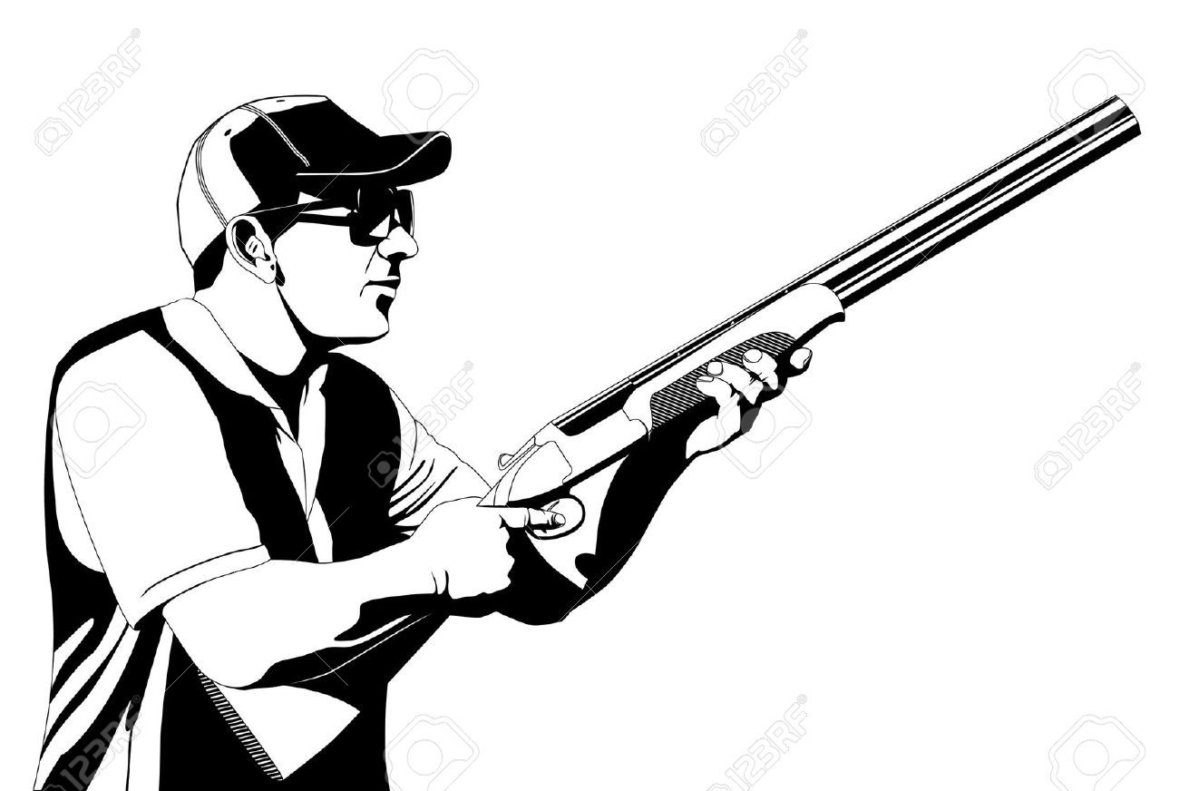 192 Trap Shooting Stock Vector Illustration And Royalty Free Trap.