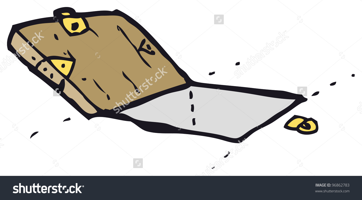 Cartoon Trap Door Stock Illustration 96862783.