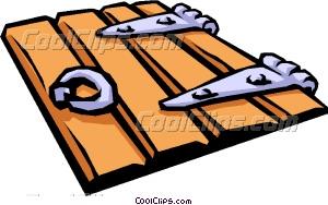 Trap door clipart.