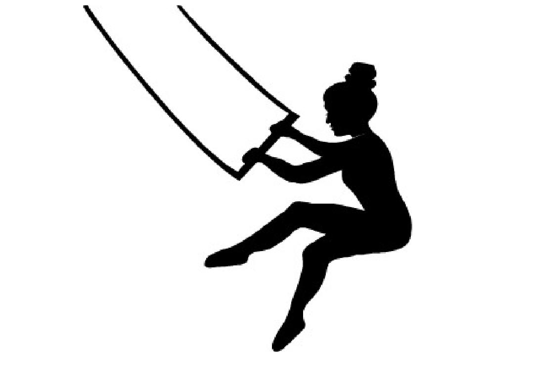 trapeze artist illustration.