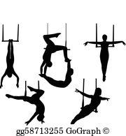 Trapeze Clip Art.