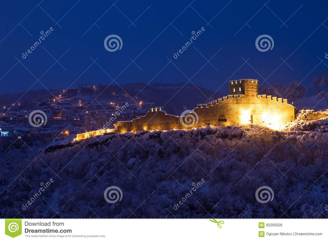 Trapezitsa Fortress Stock Photo.
