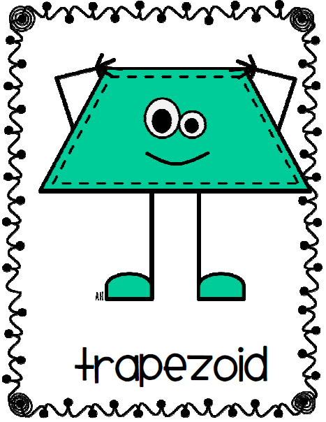 Trapezoid Clipart.