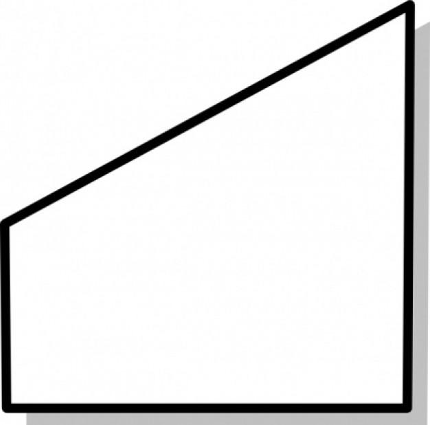 Trapezoid Clipart.