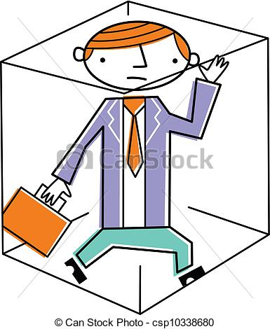 Trapped clipart.